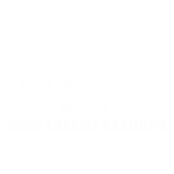 New Talent Fashion Logo White